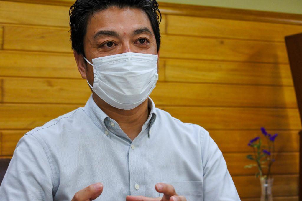 (竹内薬品株式会社 代表取締役社長 竹内秀介さんにお話をお伺いしました)