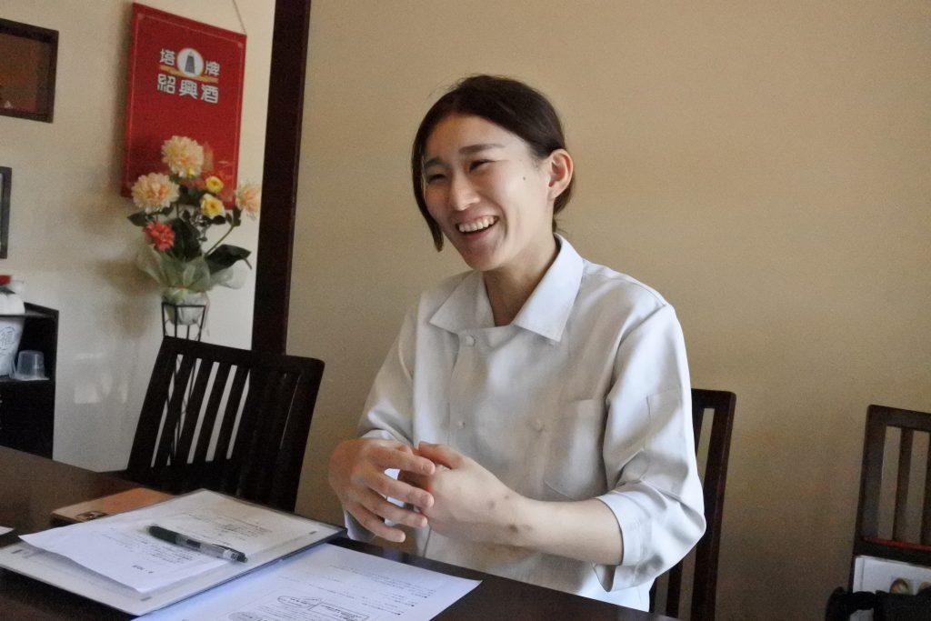 大連飯店 料理長・田淵楓さん
