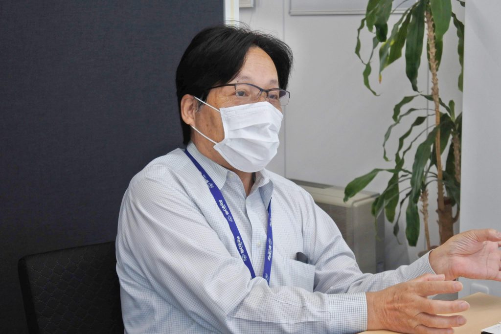 株式会社デンテックス総務部長 梅澤正博さん