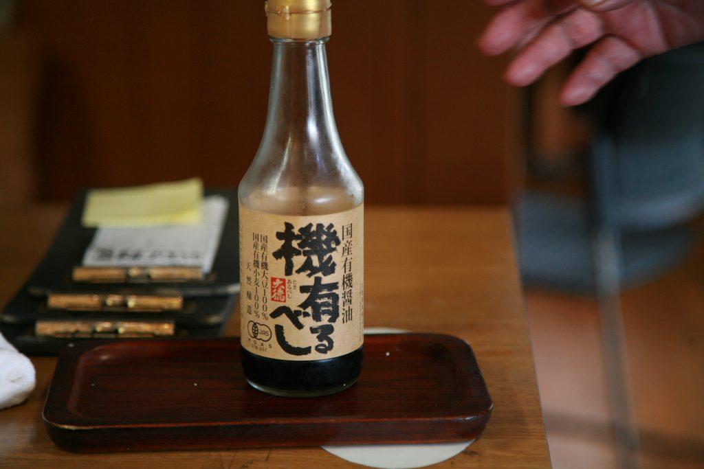 (おばちゃんの愛用調味料・養父市の大徳醤油)